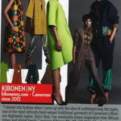 DESIGNER SPOTLIGHT: KIBONEN NY FEATURED IN VOGUE TALENTS (VOGUE ITALIA) SPOTLIGHT ON 2015's FASHION DESIGNERS